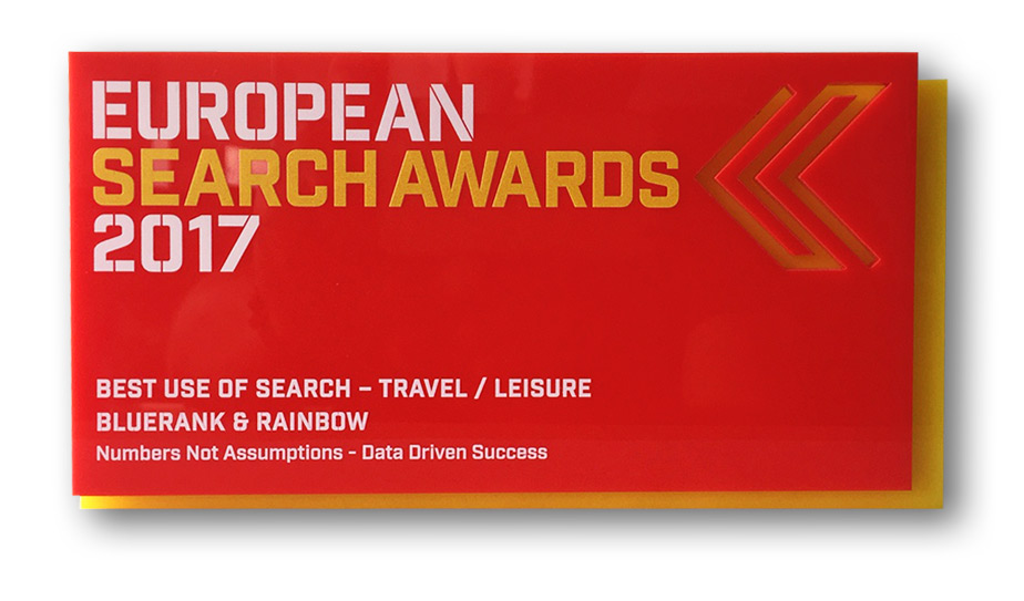European Search Awards - Best Use of Search - Travel/Leisure 2017