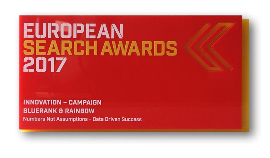 European Search Awards - Innovation - Campaign 2017
